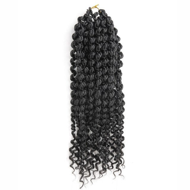 Spring twist curly 14inch length pre twisted crochet braids Hair extension