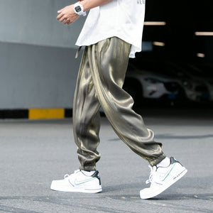 Cargo Pants Joggers Men Harem Pants 2020 Solid Loose Hip Hop Man Sweatpants Streetwear Casual Pants Elastic waist Male Trouser