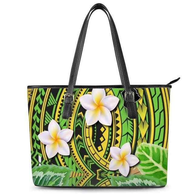 Hot Sales Large Leather Handbags Women Shoulder Bag Fashion African Ethnic Tribe Print Vintage Female Handbag Ladies Hand Bag