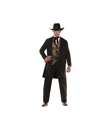 Under Wrap Gambler Cowboy Gentleman Men Costume