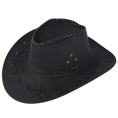 Sendke Cowboy Hat Western Outback Cowboy Hat Men's Women's Style Cowboy Hat wHat Band D¨¦cor