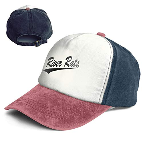 Fashion Vintage Hat River Rats Adjustable Dad Hat Baseball Cowboy Cap