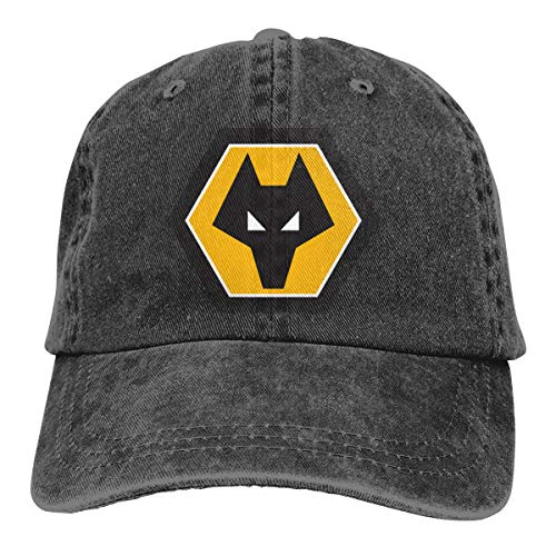 Wolverhampton Wanderers Men Womens Cowboy Hat Funny Adjustable Casquette Trucker Hat Black