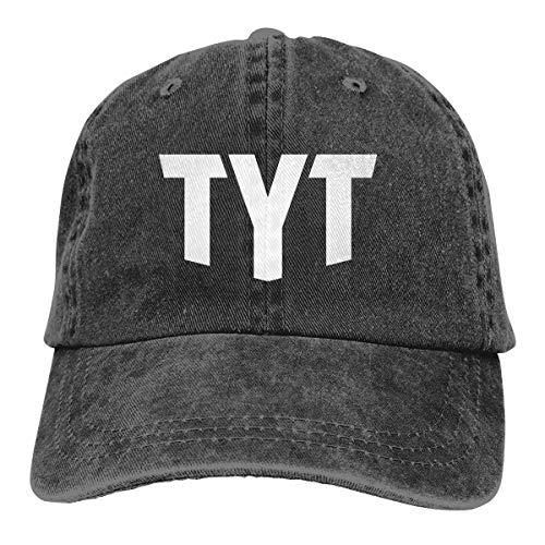Veluccini The Young Turks TYT Logo Cowboy Cap Unisex Adjustable Dad Baseball Hat Black