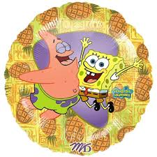 SPONGEBOB AND PATRICK BALLOON