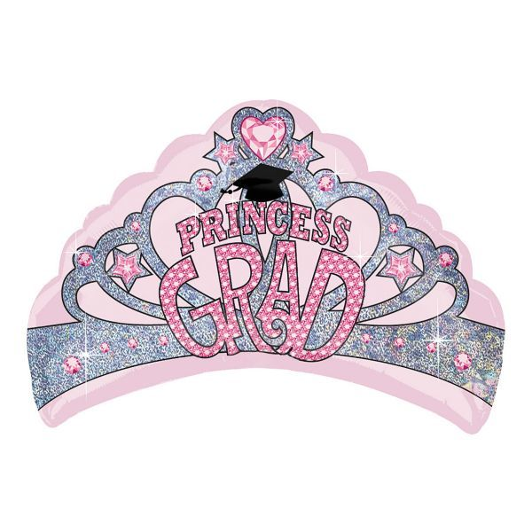 Princess Grad Foil Balloon