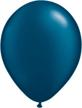 LATEX BALLOON-PEARL MID NIGHT BLUE