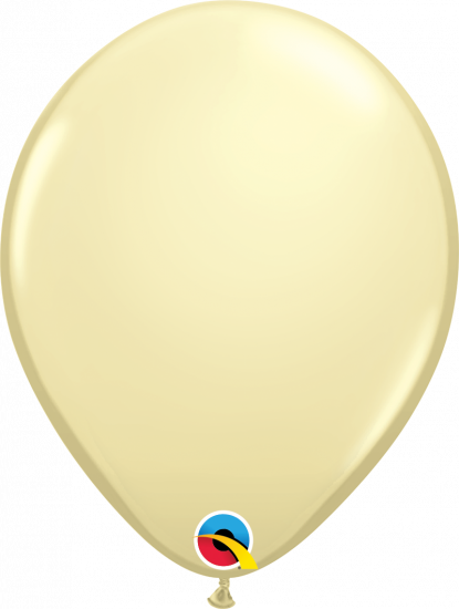 LATEX BALLOON-IVORY SILK