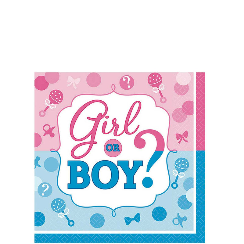 Girl Or Boy? Beverage Tissues