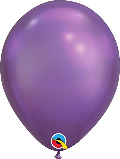 latex chrome purple