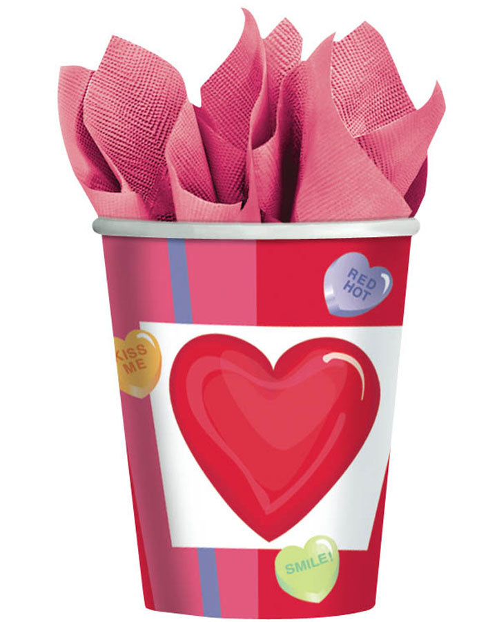 T/S CANDY HEARTS CUPS 9OZ
