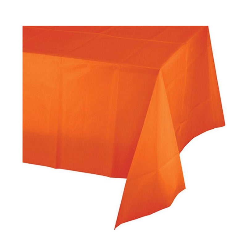 orange peel long table cover