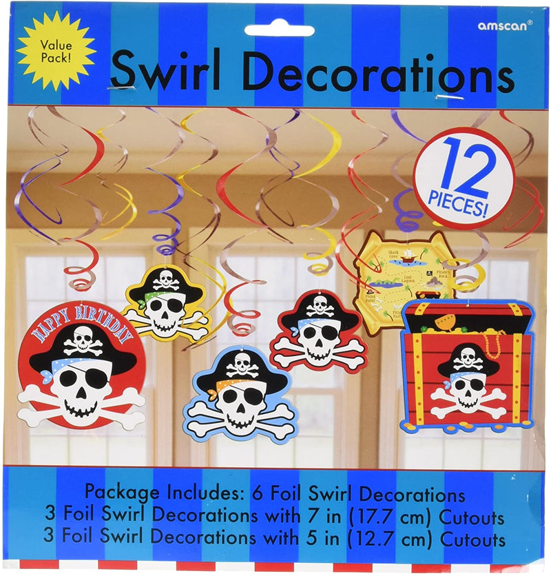 SWIRL DECORATION VALUE PACK PIR