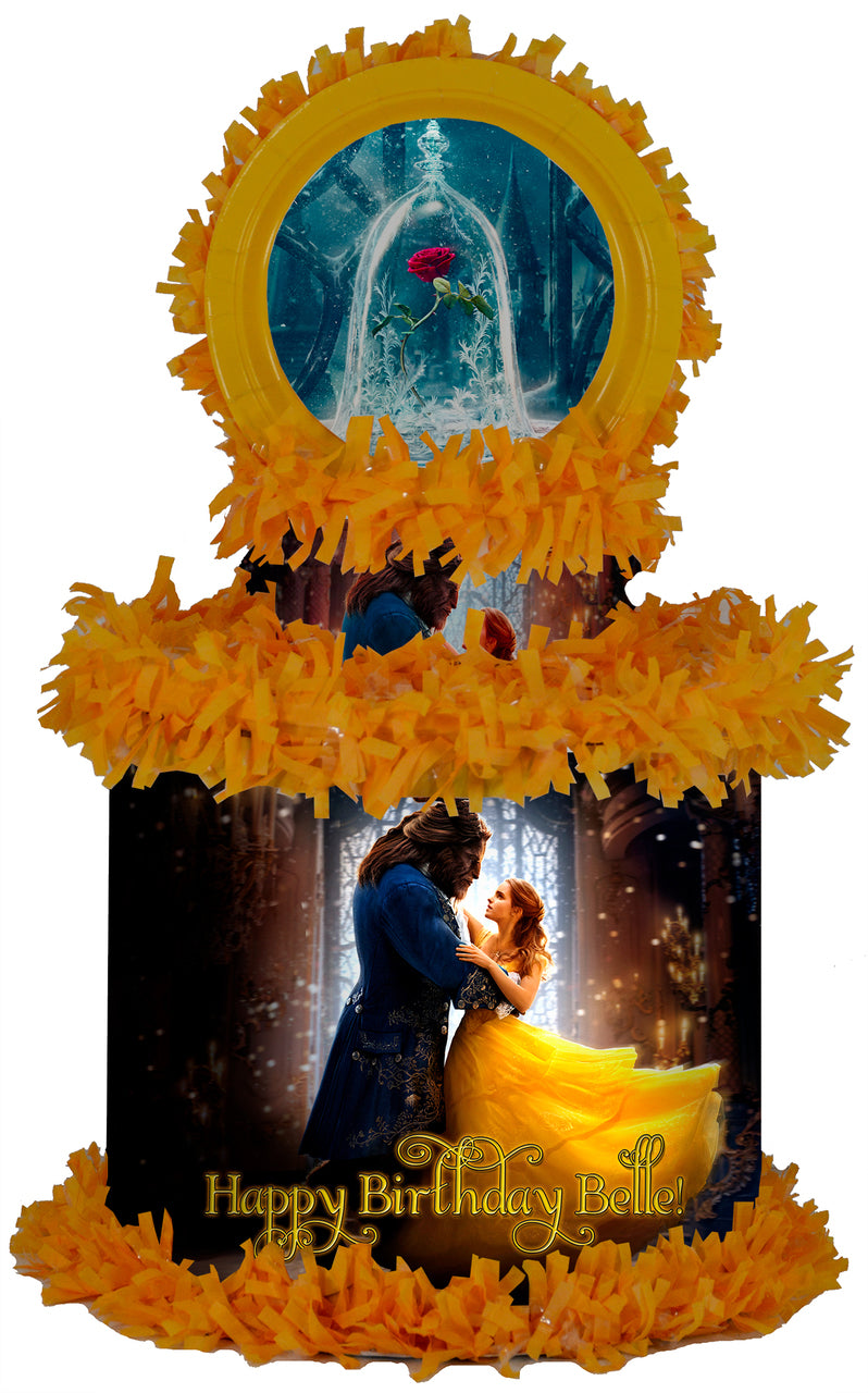 Beauty and the Beast Piñata