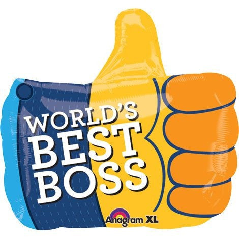 Thumbs up best boss f/b