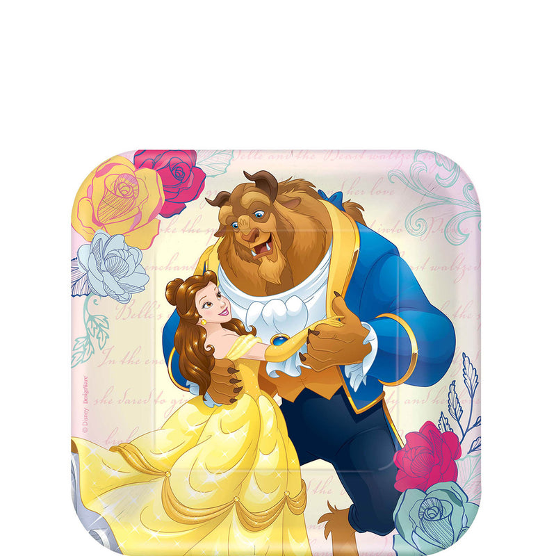 BEAUTY AND THE BEAST 7 INC PLATE