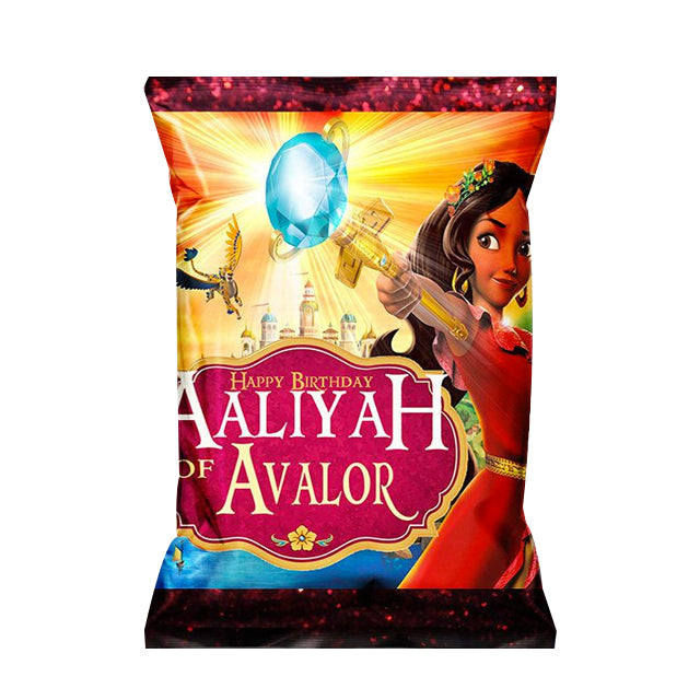 Elena Avalor Chips Label