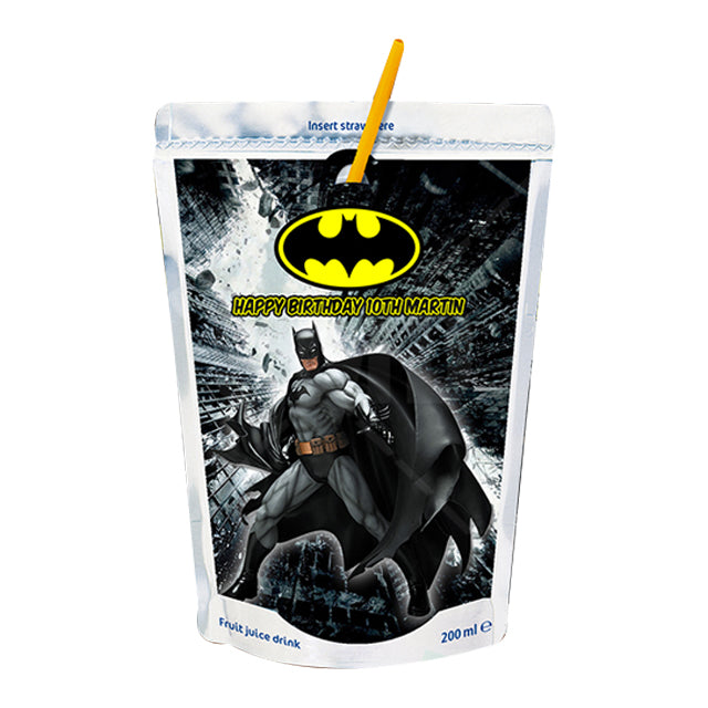 Batman Juice Labels