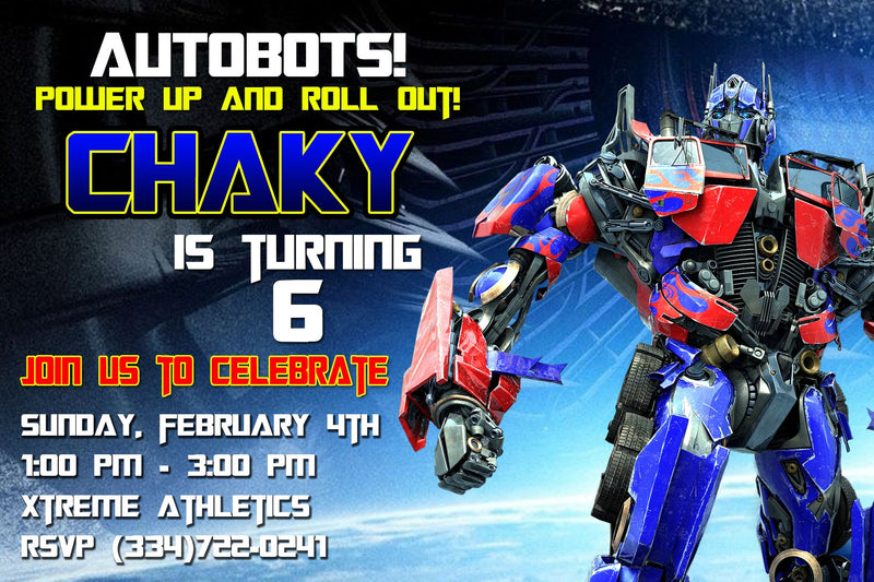 Transformer Personalized  Invitation