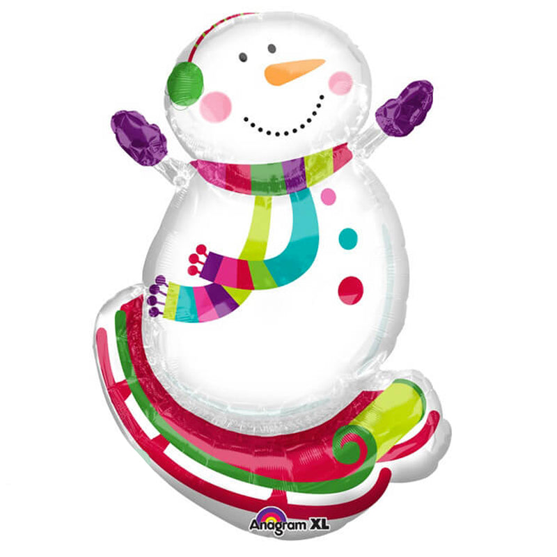 SNOWMAN SUPERSHAPE FB