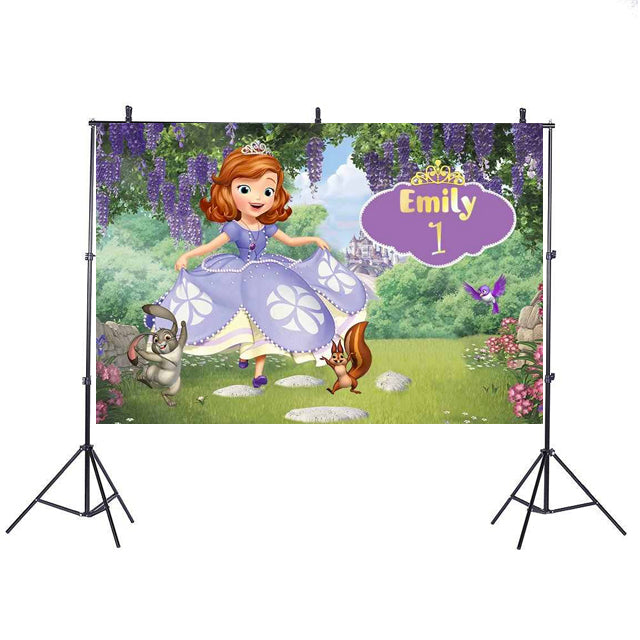 Sofia the First Backdrop Banner