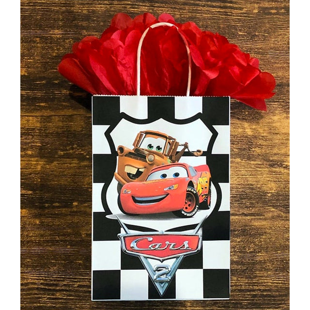 Cars Theme Personalized Goodie Bags