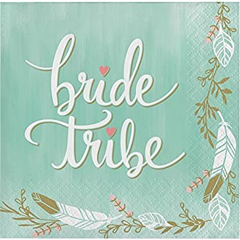 MINT TO BE-BRIDE TRIBE NAPKIN