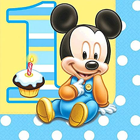 MICKEY'S 1ST BIRTHDAY LUNCHEON