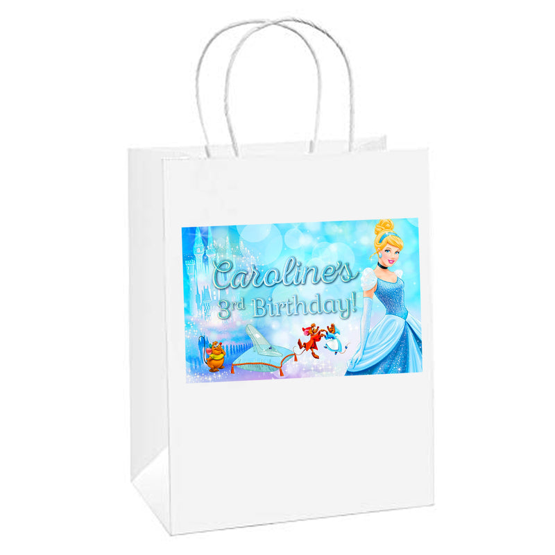Cinderella Personalized Paper Bags