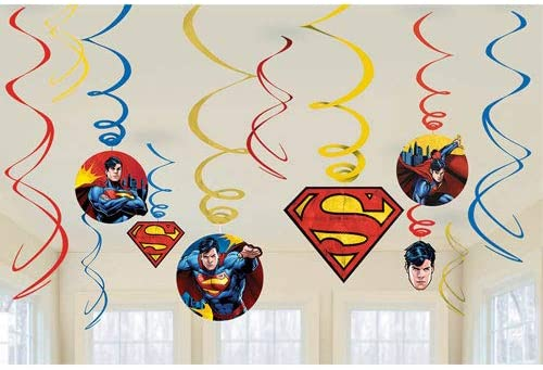 Superman Swirl Decoration