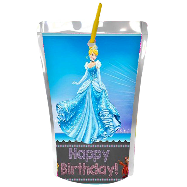 Cinderella Theme Juice Label