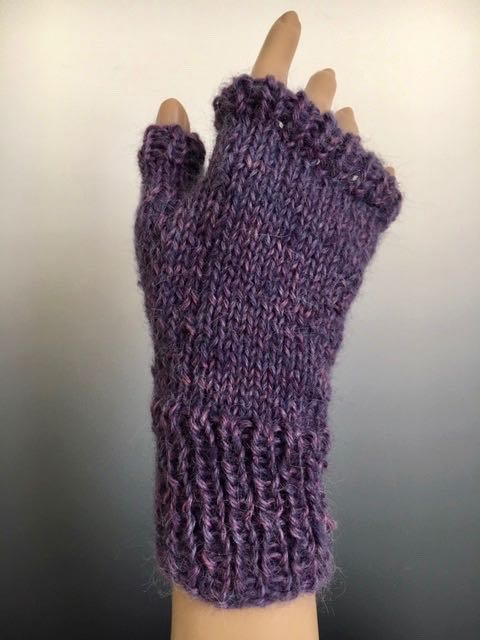 Handwarmers - Handwarmer with Ribbed Cuff