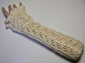 Arm Warmers with Lace