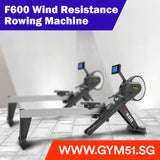 Brightway F600 Wind Resistance Rowing Machine - Rowing Machine | Gym51