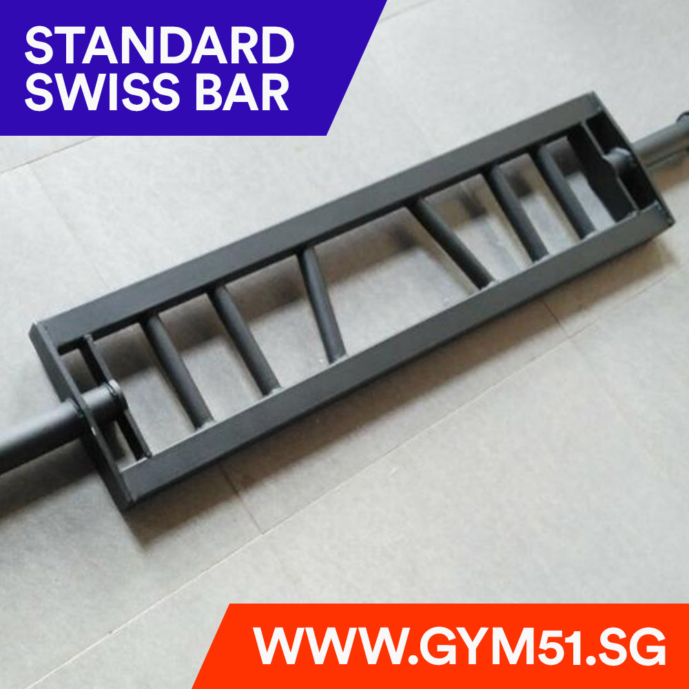 Standard Swiss Bar - Barbell | Gym51