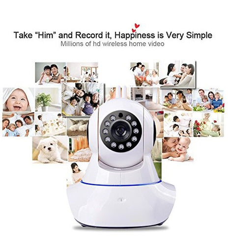 IP Wireless Camera 360 With 2 Antenna