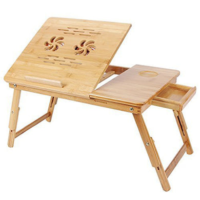 Adjustable Wooden Laptop Desk