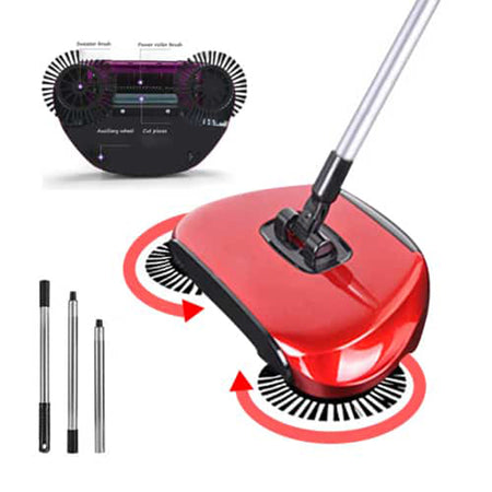 Spining Broom Vacuum Cleaner
