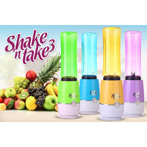 Shake N Take Smoothie Blender with Twin Bottle