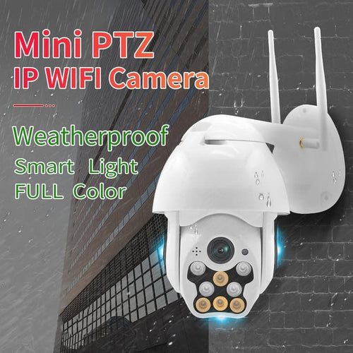 Wireless IP Camera Outdoor Speed Dome 1080P HD
