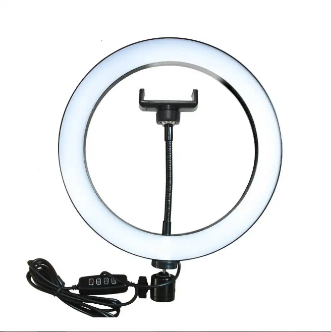 Professional Ring Light With Mobile Holder (26cm)