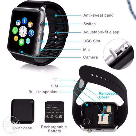 W08 Android Smart Watch