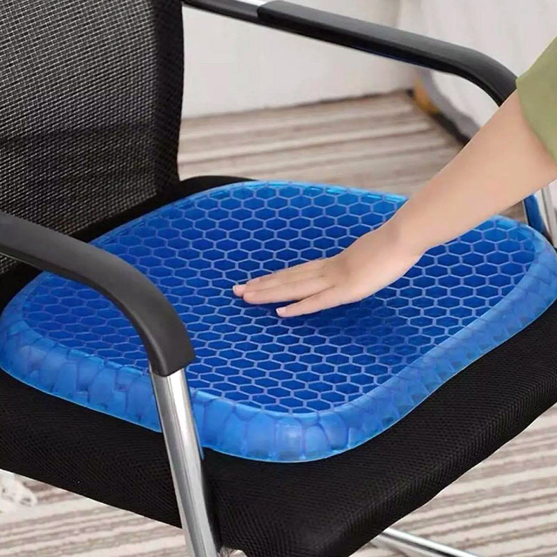 Ultra Soft Self Cooling Gel Chair Seat Cushion