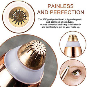 Painless Eyebrow Trimmer and Hair Remover