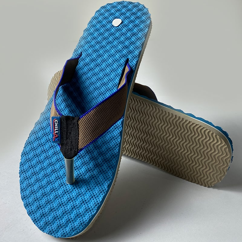 Light Blue Thin Flip-Flops