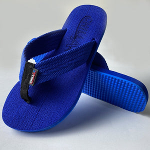 Dark Blue Thin Flip-Flops