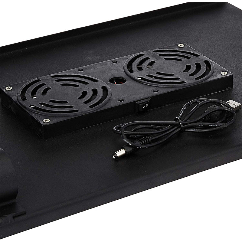 Multifunctional Laptop table with Cooling Fan and Mouse Pad