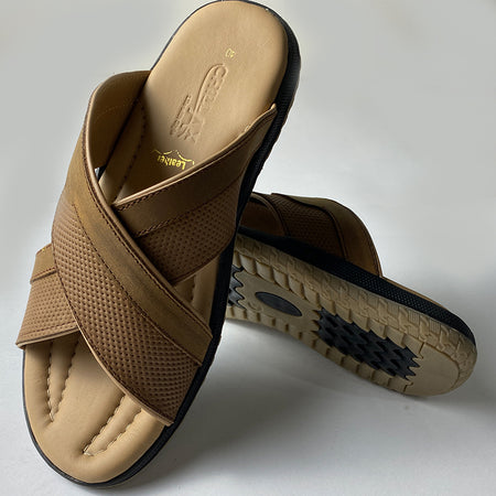 Classical Slippers With Leather Straps For Men