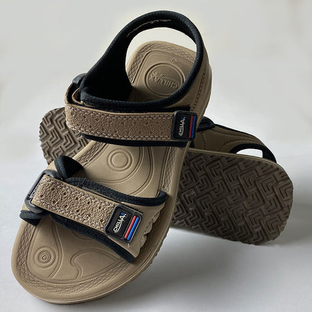 Mens Brown Casual Branded Sandals