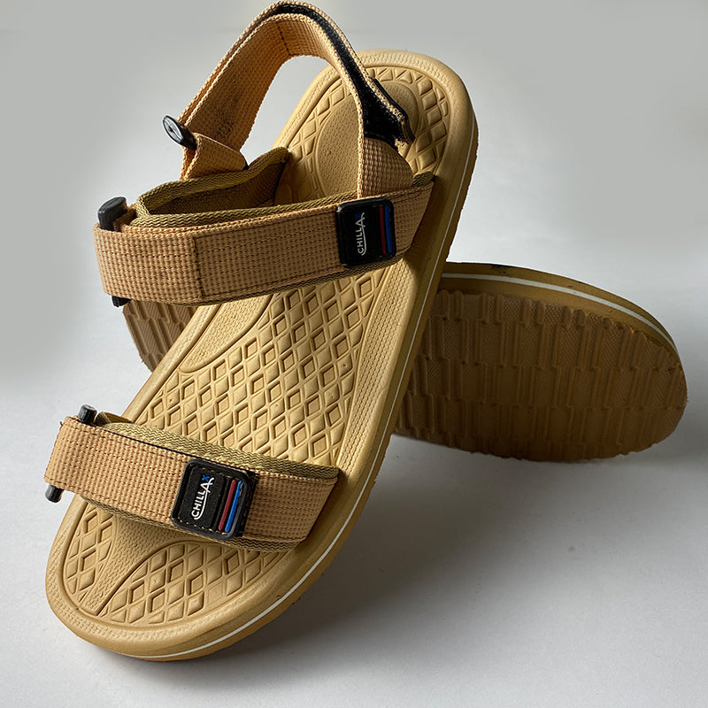 Mens Casual Outdoor Yellow Sandals
